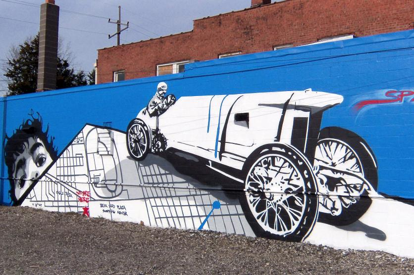 46 for xlvi mural project indianapolis ind for Downtown hollywood mural project