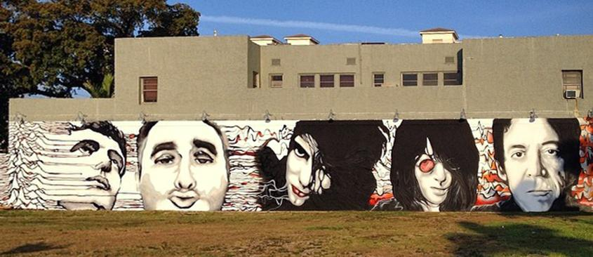 Collaboration with anthony hernandez west palm beach fl for Downtown hollywood mural project