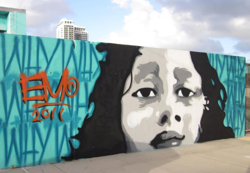 Downtown Hollywood Mural Project Of Wynwood Art District Miami Fl
