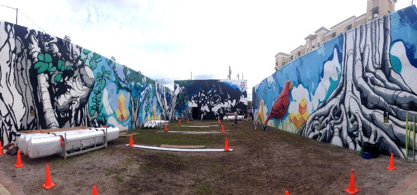 Musical swings west palm beach fl for Downtown hollywood mural project